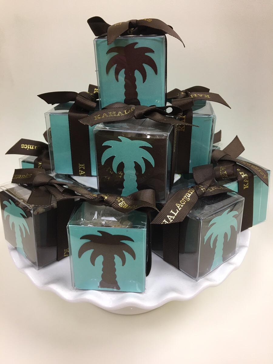 カハラフルーティkahala fruit tea wedding mini gift box green spa
